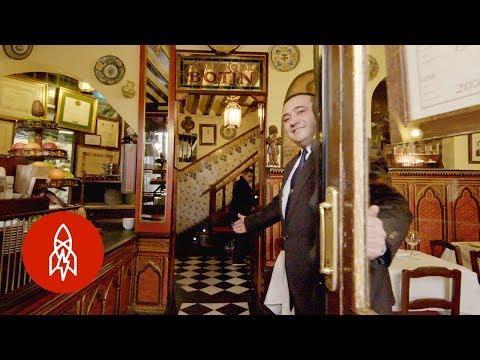 شاهد  أقدم مطعم في العالم يعمل منذ 293 عامًا