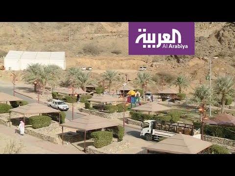 شاهد بث مباشر من قرية ذي عين الأثرية في السعودية