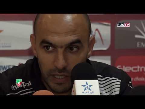 بالفيديو الندوة الصحافية لمباراة الفتح الرياضي والمغرب التطواني
