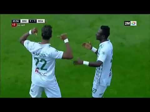 شاهد هدف حميد أحداد في مرمى الرجاء البيضاوي