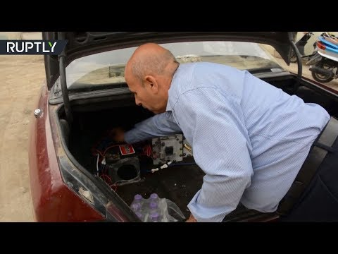 شاهد تعرّف على سيارة عراقية تعمل بالماء بدل الوقود