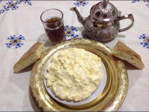 تحضير الزبدة البلدية المغربية الرائعة