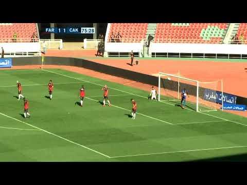 أهداف المباراة التي انهزم فيها الجيش الملكي أمام شباب أطلس خنيفرة