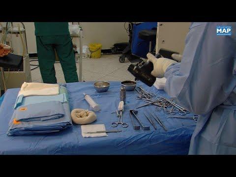 شاهدإجراء أول علمية جراحية لاستئصال ورم سرطاني في كلميم