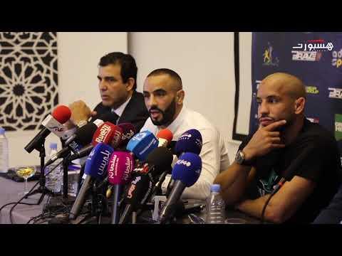 شاهد البطل العالمي في رياضة فنون عثمان أبوزعيتر