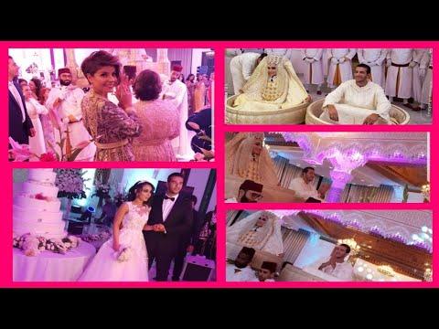 شاهد حفلة زفاف أسطورية لشقيق عارضة الأزياء ليلى حديوي
