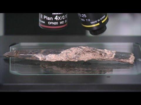 شاهد العثور على سكين في المغرب يعود تاريخه إلى 90 ألف سنة