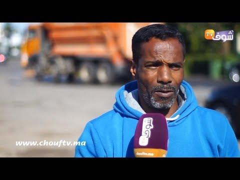 شاهد وفاة مسنّة في حادثة سير في الدار البيضاء