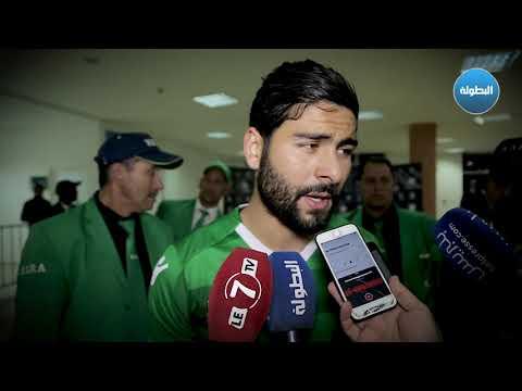 شاهد تصريحات مكرم البديري بعد الفوز على الرجاء في ملعبه