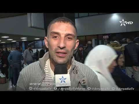 شاهد مشجع للترجي يؤكد فخره بالتواجد في المغرب لأننا إخوة منذ القدم