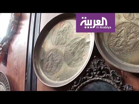 شاهد قصة سوري عاشق النحت على النحاس يُجسِّد تحدي الحرب بالفن