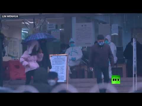 شاهد شوارع ووهان الصينية خاوية بعد تفشي فيروس كورونا