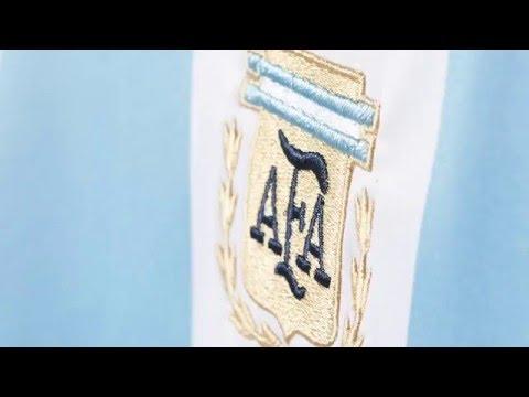 شاهد الكشف عن القميص الجديد لمنتخب الأرجنتين
