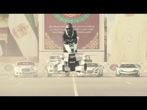 dubai police eye the skies