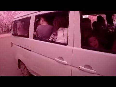 31 passengers crammed