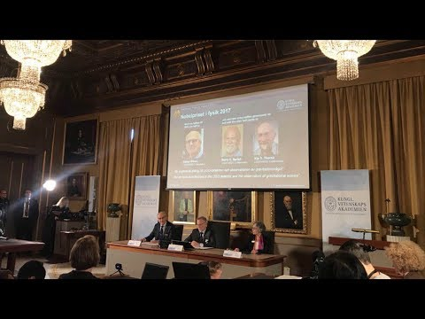 three scientists share nobel prize