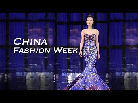 china fashion week raises the curtain