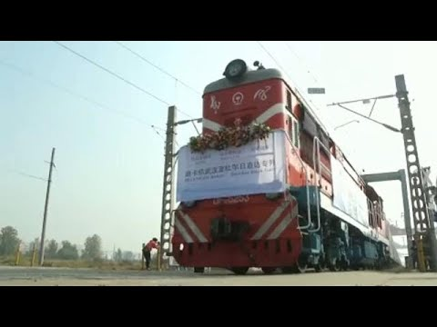 freight train begins new china