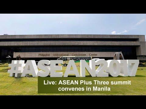asean plus three summit convenes