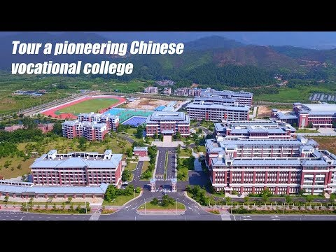 tour a pioneering chinese vocational college