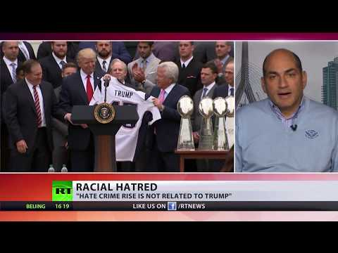 is trump to blame for spike in us hate crimes