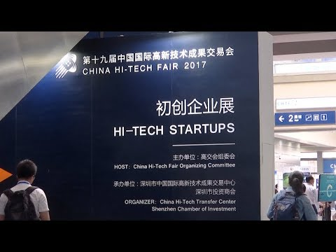19th china hitech fair ends in south china attracting