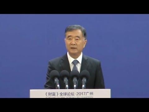 chinese vp urges building of open balanced world economy