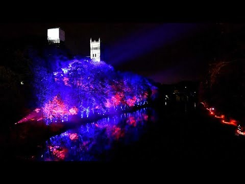 lumiere spectacular lights up durham