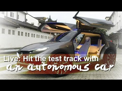 live hit the test track