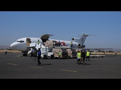 wheat and vaccines arrive in wartorn yemen