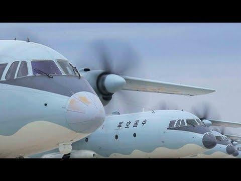 y9 transport plane in longdistance training