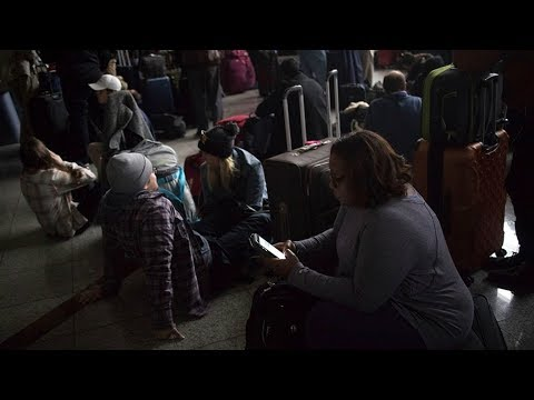 ​ atlanta airport power outage strands​