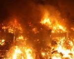 حريق بمحل للمأكولات الشعبية على مستوى شارع مبارك في مراكش