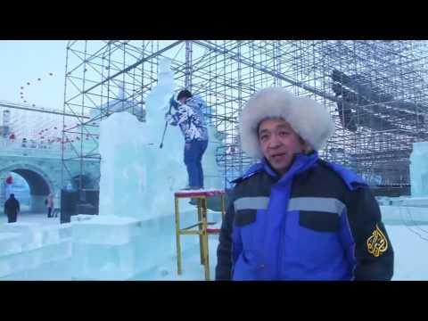 المغرب اليوم  - شاهد انطلاق مهرجان مدينة هاربن السنوي للثلوج