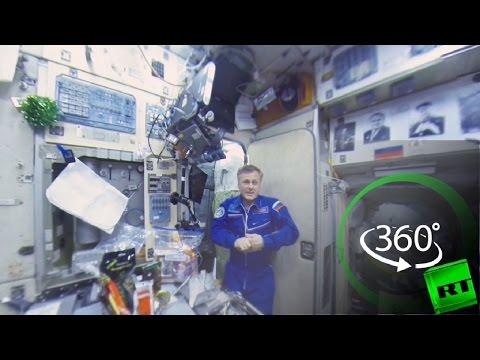 المغرب اليوم  - شاهد الاحتفال بالعام الجديد في محطة الفضاء الدولية