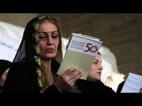 المغرب اليوم  - بالفيديو  آلاف الحجاج من المسحيين