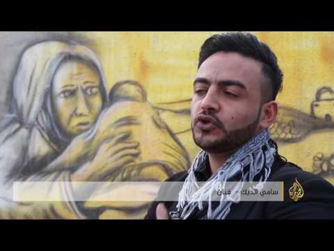 المغرب اليوم  - بالفيديو  الفلسطيني سامي الديك يقاوم الاحتلال بـالفن الصمت