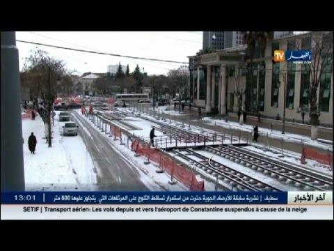 المغرب اليوم  - شاهد الثلوج تصنع لوحات جمالية في سطيف