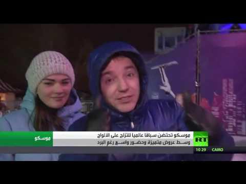 المغرب اليوم  - شاهد سباق للسنوبوردس ضمن عرض متميز في موسكو