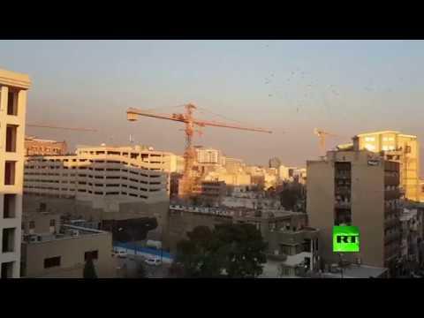 المغرب اليوم  - بالفيديو إطلاق نار يفاجئ العاصمة الإيرانية طهران