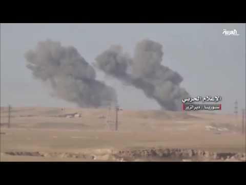 المغرب اليوم  - بالفيديو داعش يخوض معارك ضارية ويقترب من السيطرة على مطار دير الزور