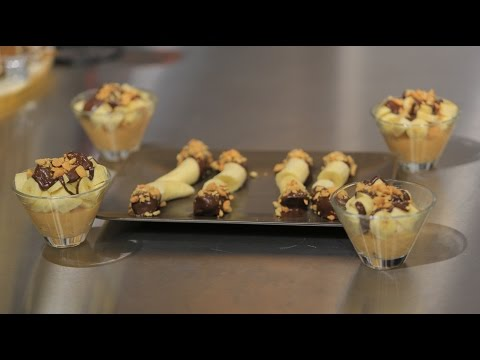 المغرب اليوم  - شاهد طريقة عمل موز بالشوكولاتة الغامقة والفول السوداني