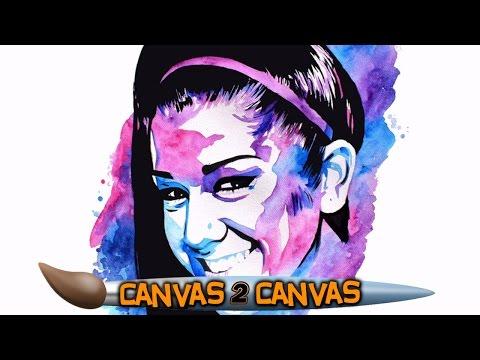 المغرب اليوم  - بالفيديو رسام الاتحاد يبدع برسم لوحة فنية جديدة للمصارعة بايلي