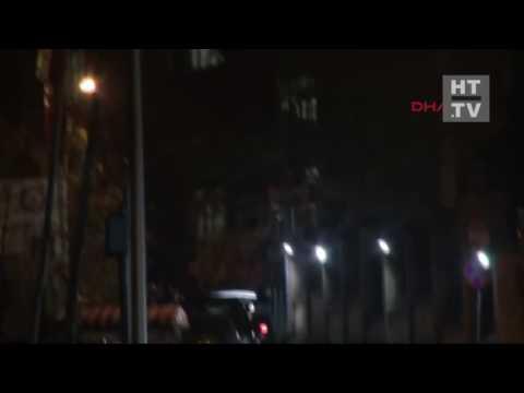 المغرب اليوم  - شاهد استهداف مديرية أمن إسطنبول بقذيفة صاروخية