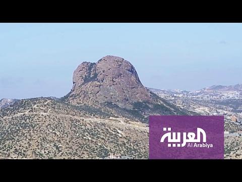 المغرب اليوم  - شاهد جولة على جبل حرفة في النماص