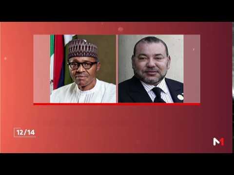 المغرب اليوم  - شاهد رسالة خطية من الملك محمد السادس إلى رئيس نيجيريا