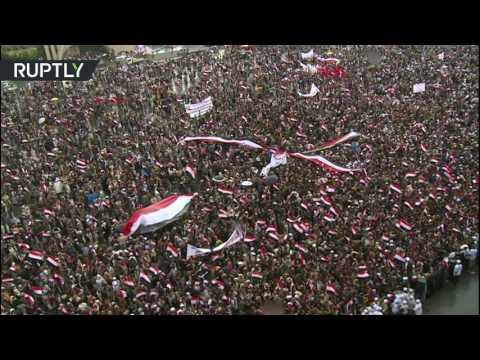 المغرب اليوم  - مظاهرات في صنعاء ترفض عمليات قوات التحالف العربي