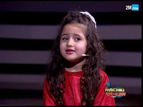 المغرب اليوم  - الطفلة محاسن تغني النشيد الوطني في رشيد شو