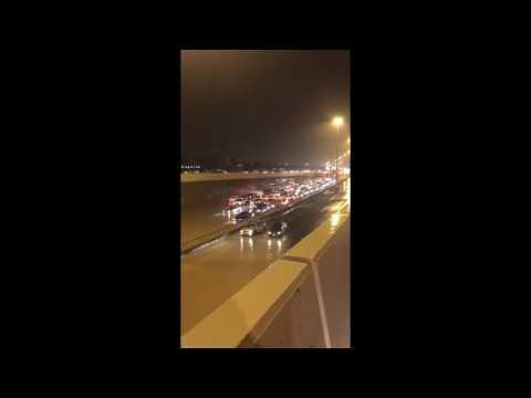 المغرب اليوم  - بالفيديو مشاهد صادمة من الأمطار الغزيرة في الكويت