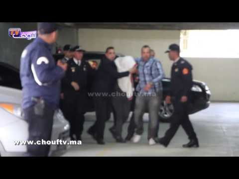 المغرب اليوم  - شاهد لحظة ترحيل زوجة مرداس وعشيقها المتهم هشام مشتري